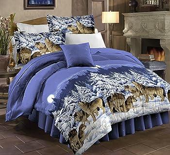 Wolf Bedding Shop  Everything Log Homes