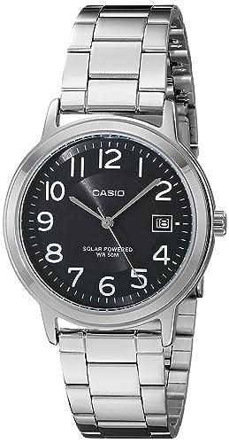 f1b71925b921 BEST PRICE!  Amazon – Casio Unisex MTP-S100D-1BVCF Solar Easy-To ...