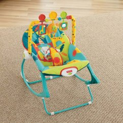 Baby Chair That Vibrates Rattan Barrel Fisher Price Rocker Classy Gear