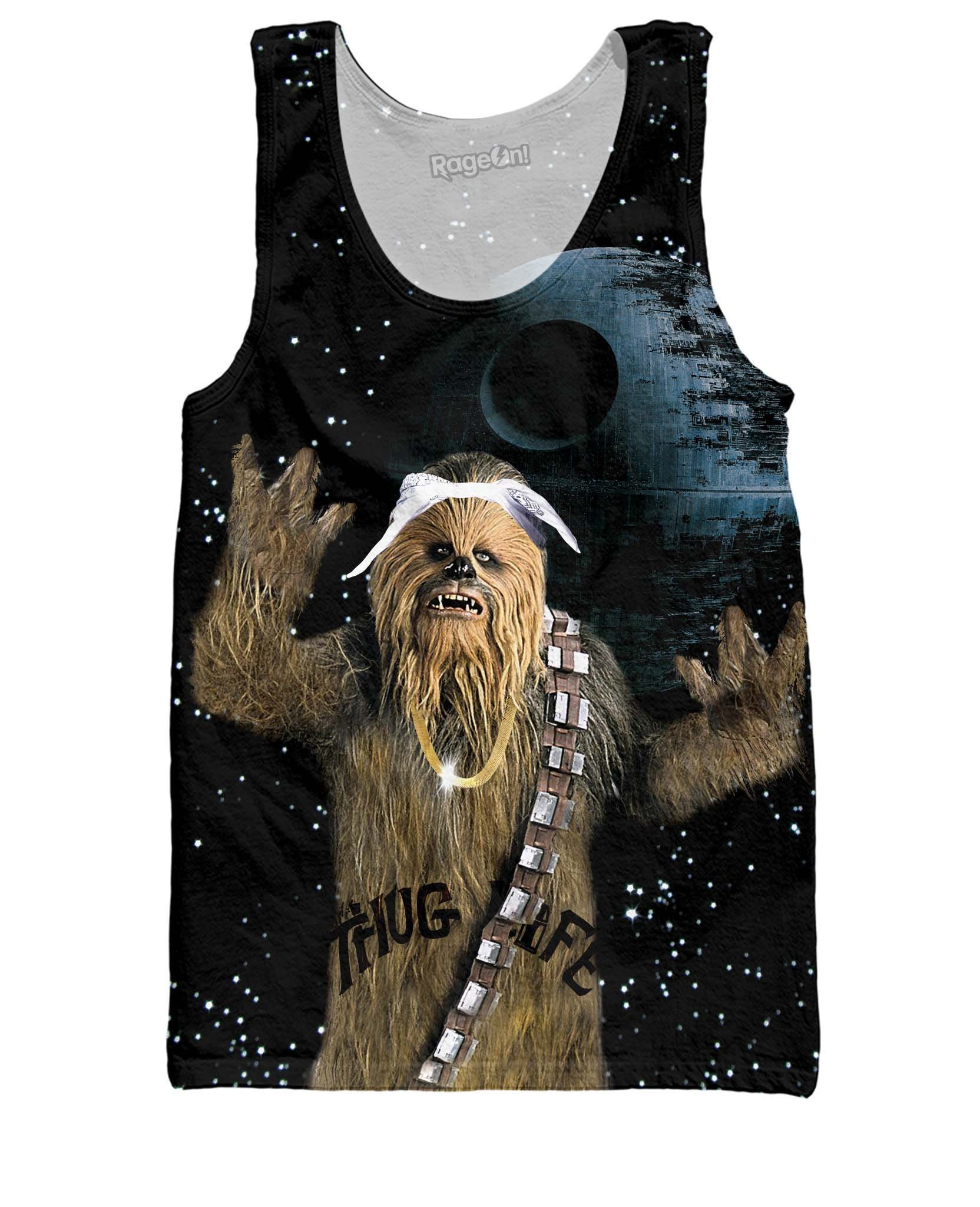 RageOn Men's Tupacca Tank Top Sublimation Print