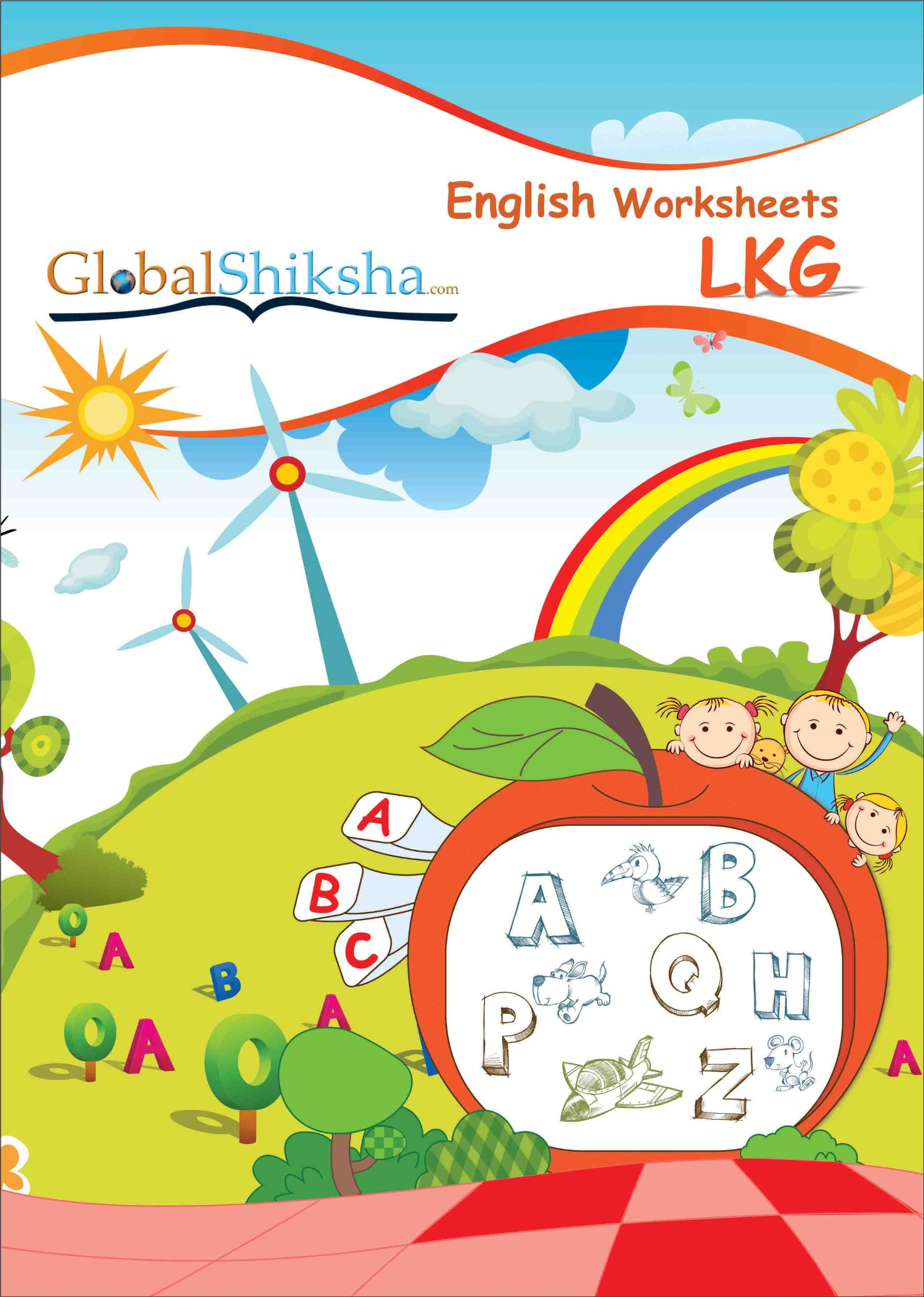 Lkg Worksheets English Free