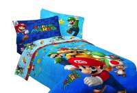 Super Mario Bedding