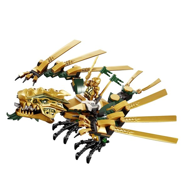 Lego Ninjago Golden Dragon 70503 Gold Lloyd Samurai Amp Warrior Mini Figure