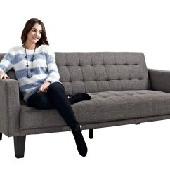 Sienna Sofa Sleeper Beds Uk Made Galleon Dhp Gray