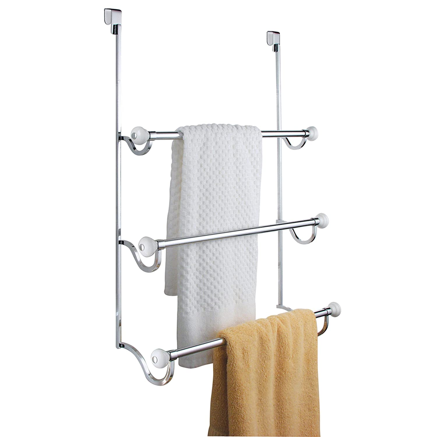 Interdesign York Overtheshowerdoor 3bar Towel Rack