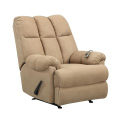 Dorel Rocking Chair Cheap Outside Chairs Living Padded Dual Massage Recliner Tan