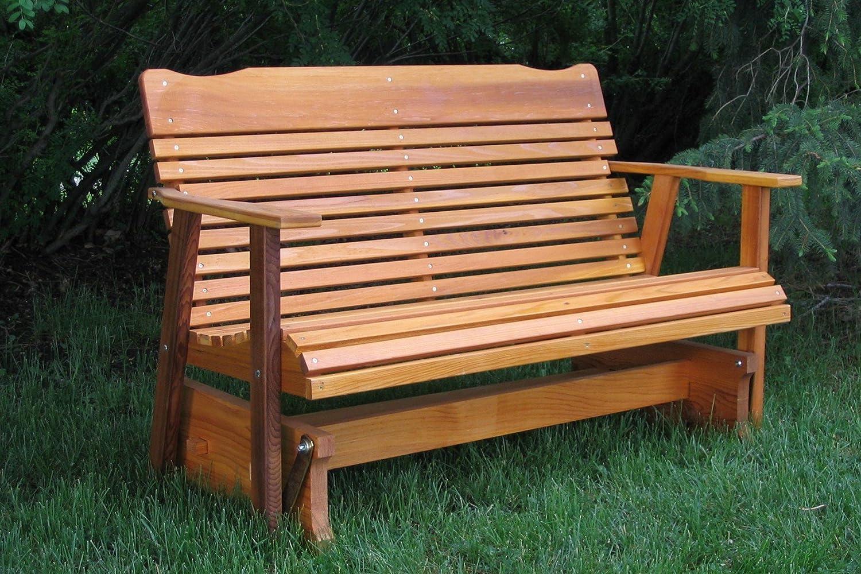 Woodwork Glider Bench Design PDF Plans
