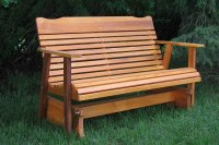 Download Glider Bench Design PDF garden bench plans