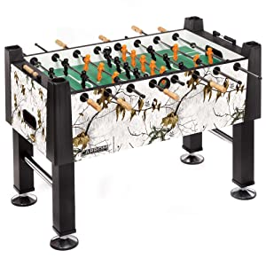 Carrom REALTREE XTRA SNOW Signature Foosball Table