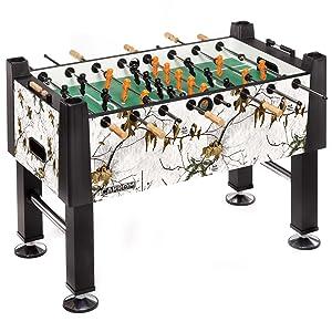 Carrom REALTREE XTRA SNOW Signature Foosball Table
