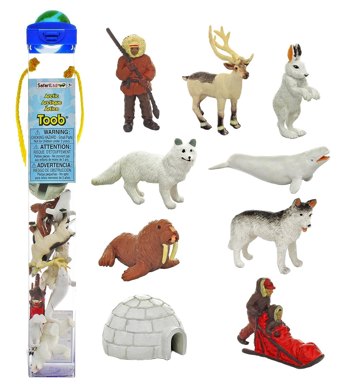 Arctic Toob Of Animal Figurines