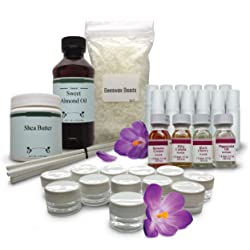 DIY Lip Balm Kit - Everything You Need To Make 24 All Natural Lush Lip Balms For Healthy Smooth Lips