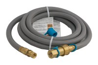 Solaire 12-Foot Flexible Hose for Natural Gas Grills, 1/2 ...