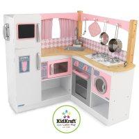 Wooden kitchen Playset: Kids kitchen playsets wood