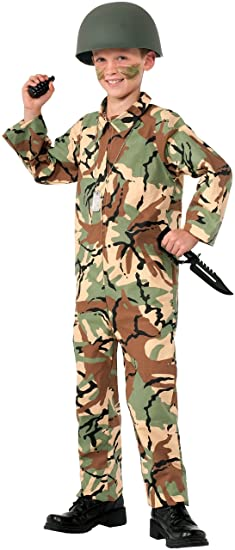Forum Novelties Army Jumpsuit Costume, Medium