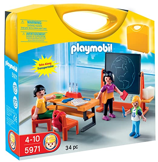PLAYMOBIL Carrying Case School Playset