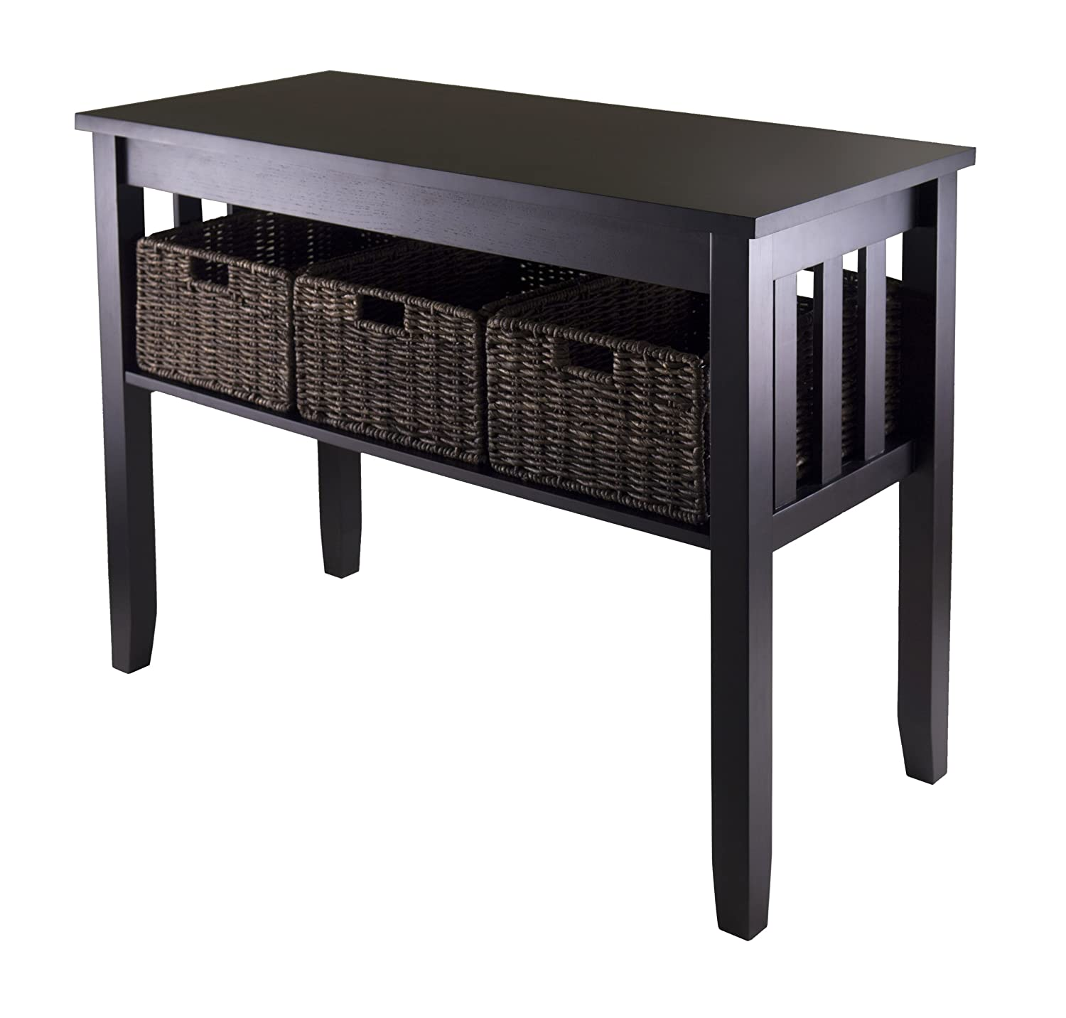 sale sofa tables leather star furniture best contemporary entryway console olivia 39s place