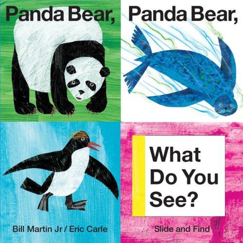 Panda Bear,  What do you see?