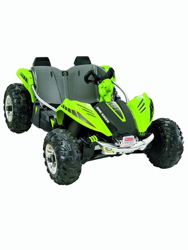 Kids Power Wheels 12v 12 Volt Battery Powered Ride Cars Toys Dune Racer Green
