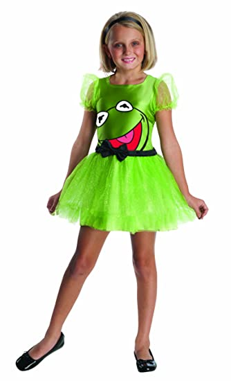 The Muppets Kermit The Frog Girls Costume - Large