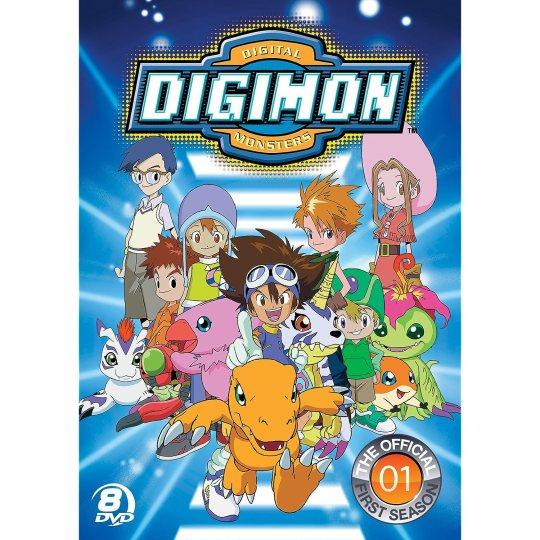 digimon season 1 dvd box set kawaii kakkoii sugoi