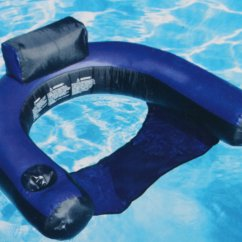 Pool Floating Lounge Chair Revolving Service In Chennai Swimline Fabric Covered Inflatable Lounger