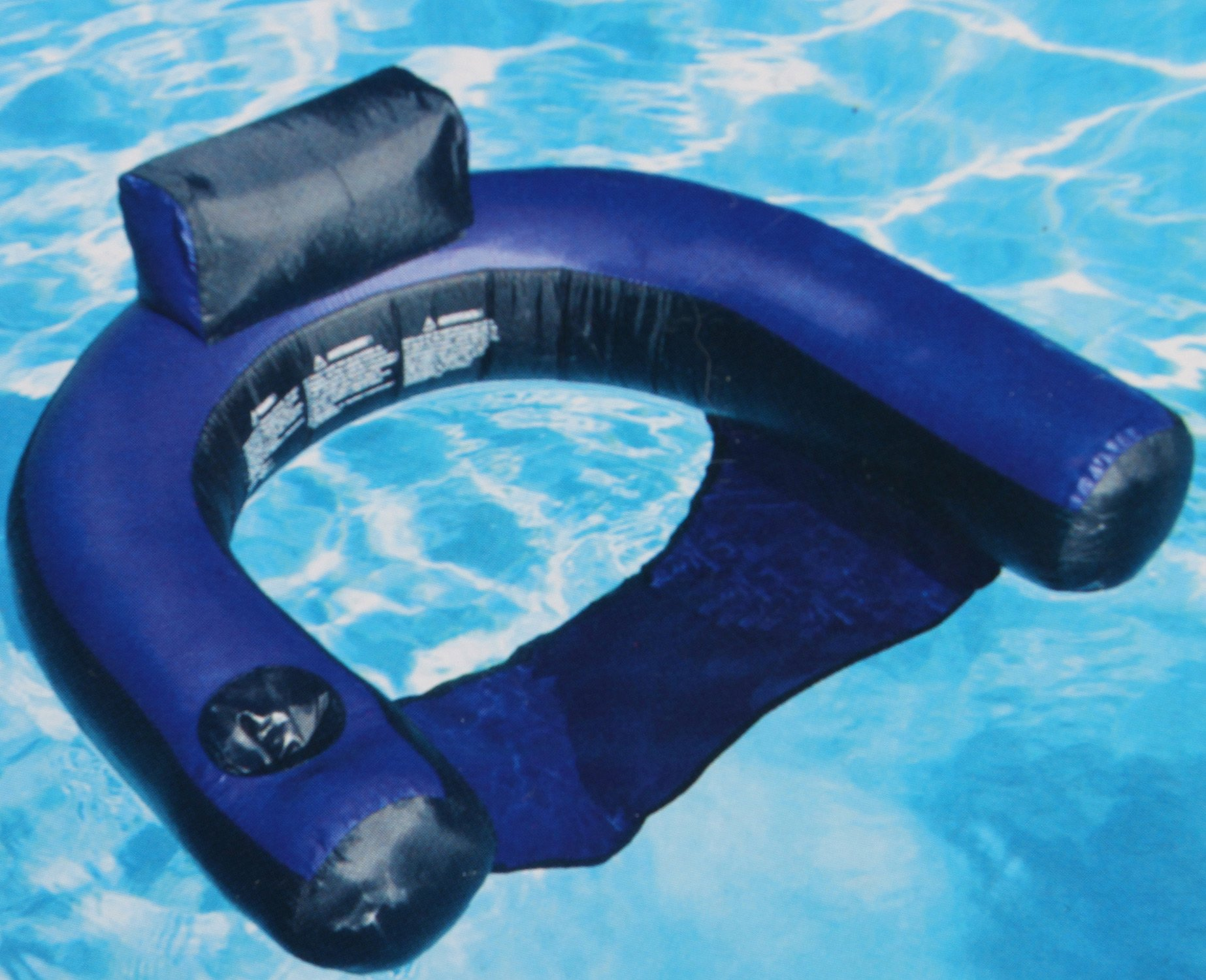 Pool Float Chairs Swimline Fabric Covered Pool Inflatable Chair Lounger