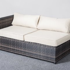 Montclair All Weather Wicker Sectional Sofa Set Best Singapore Cobana Cbn 15006 4 Piece Resin Rattan