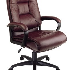 Leather Chair Office Outdoor Folding Star Executive Chairs Reviewed For