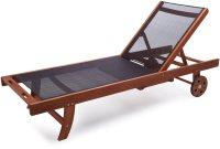 Basics Chaise Lounge Chair 5 Reclining Position Eucalyptus ...
