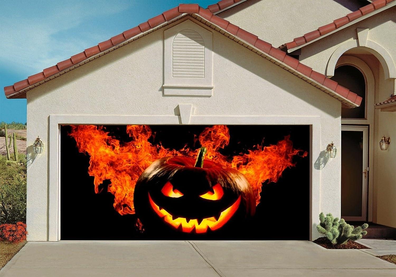 Halloween Garage Door Decorations