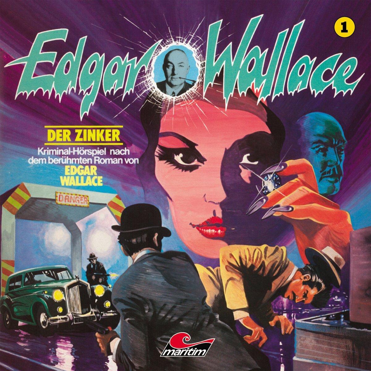 Edgar Wallace (1) Der Zinker - Maritim 198? / 2016
