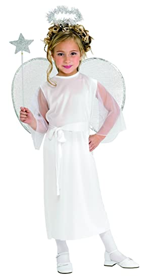 Haunted House Child's Angel Costume, Large
