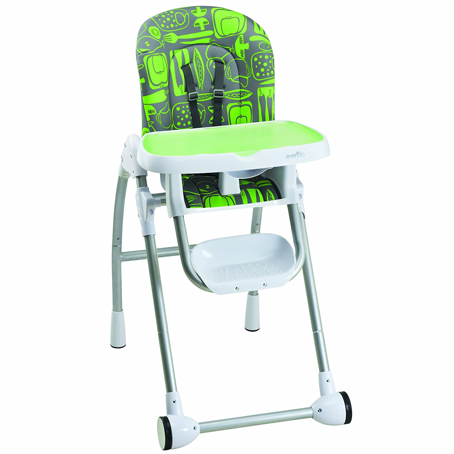 Evenflo Compact Fold High Chair Top Rated High Chairs For Babies 2015