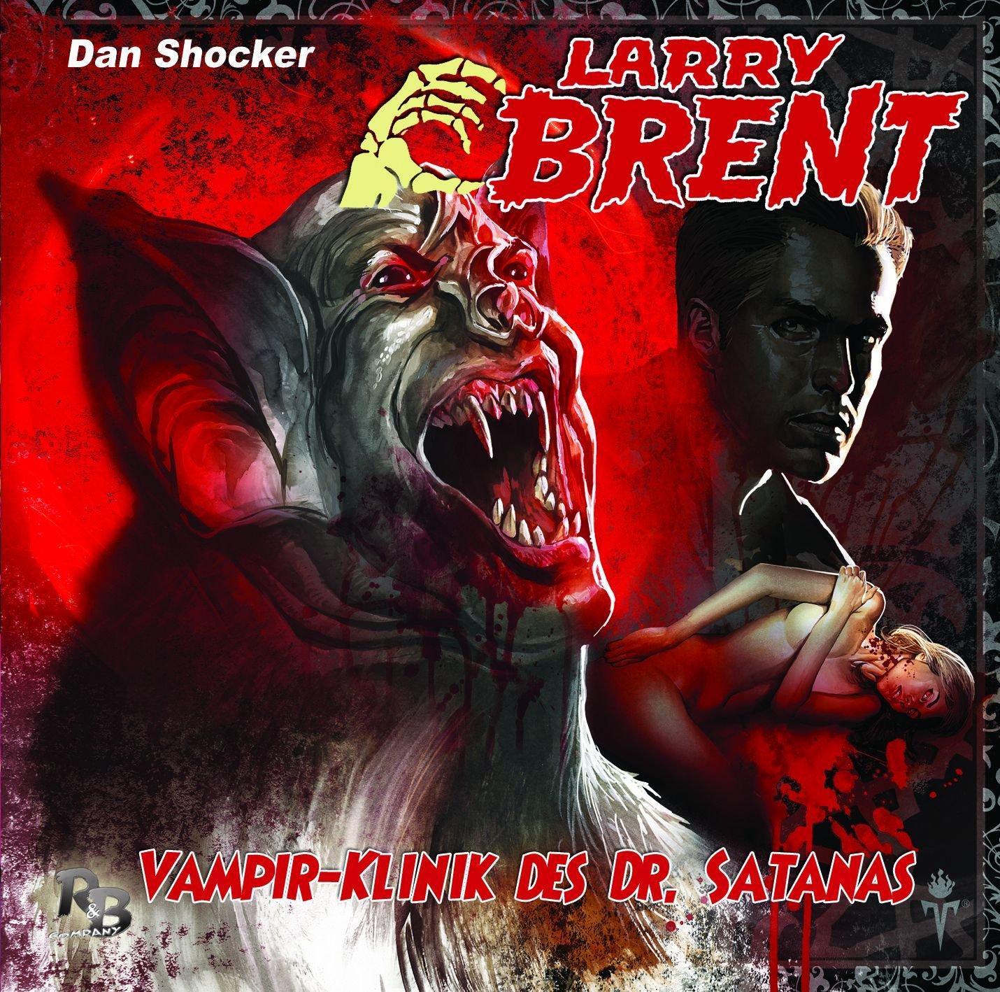 Larry Brent (11) Vampir-Klinik des Dr. Satanas (R & B Company)