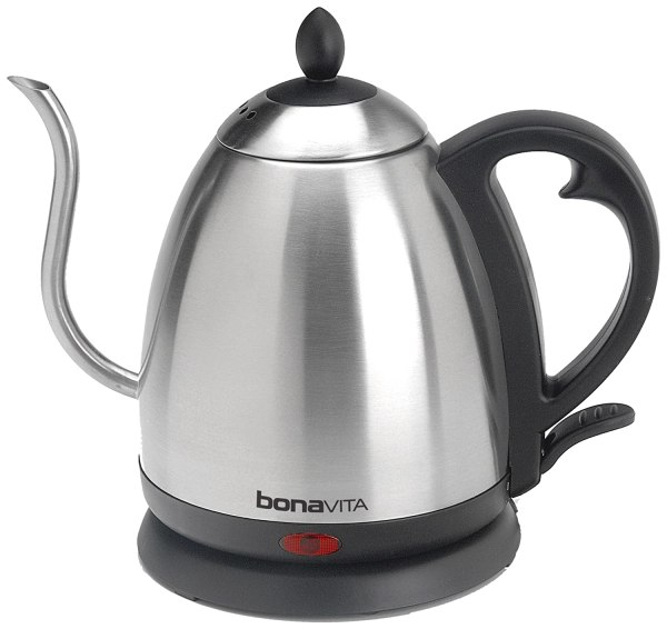 Bonavita Stainless 1 L Electric Kettle Pot Hot Water Tea Boil Quick Kitchen