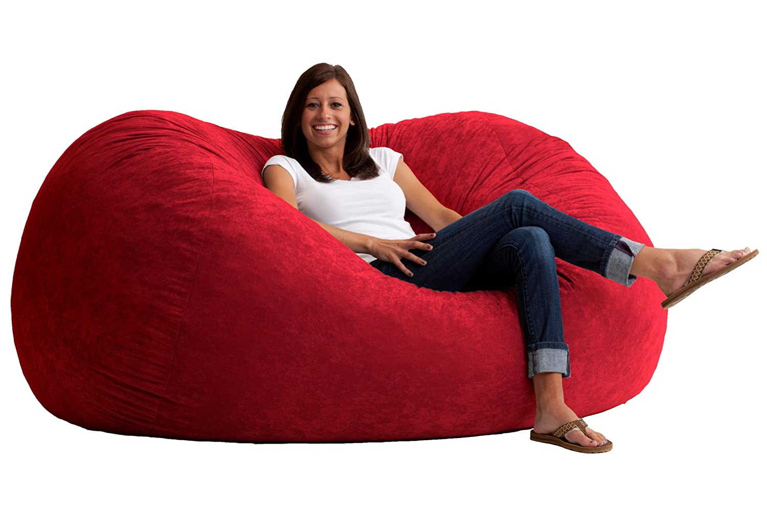 Giant Pillow Chair Large Floor Pillows Are Perfect For Dorm Rooms