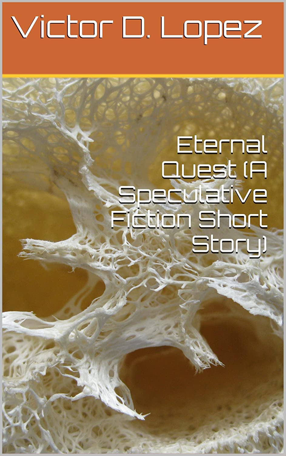 http://www.amazon.com/Eternal-Quest-Speculative-Fiction-Short-ebook/dp/B006R18NAU/ref=sr_1_13?ie=UTF8&qid=1385488353&sr=8-13&keywords=victor+d.+lopez