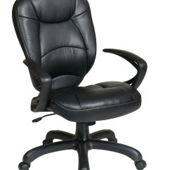 Oversized Leather Chair European Touch Pedicure Chairs For Sale Deluxe Faux Task With Arms