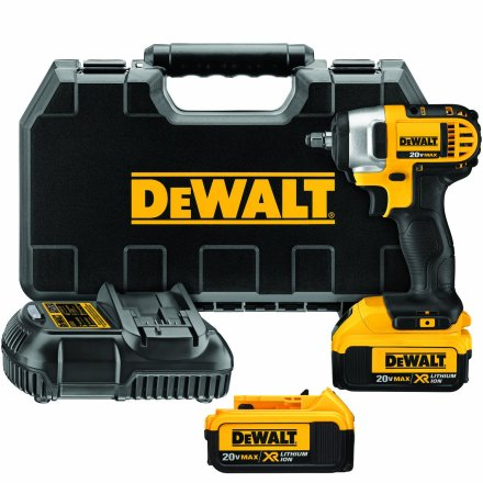 DEWALT DCF883M2 best 3/8 cordless impact