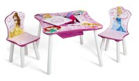 Delta Children Table and Chair Set with Storage, Disney