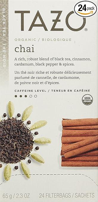 Tazo Organic Chai, 24 Tea Bags