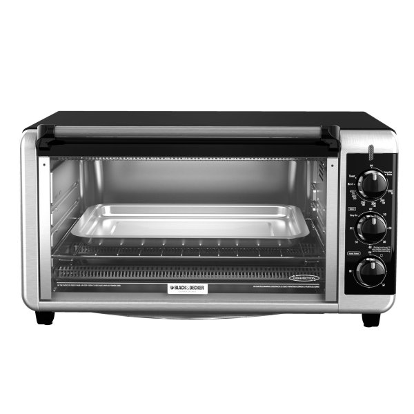 Black & Decker To3250xsb 8-slice Extra Wide Toaster Oven Silver