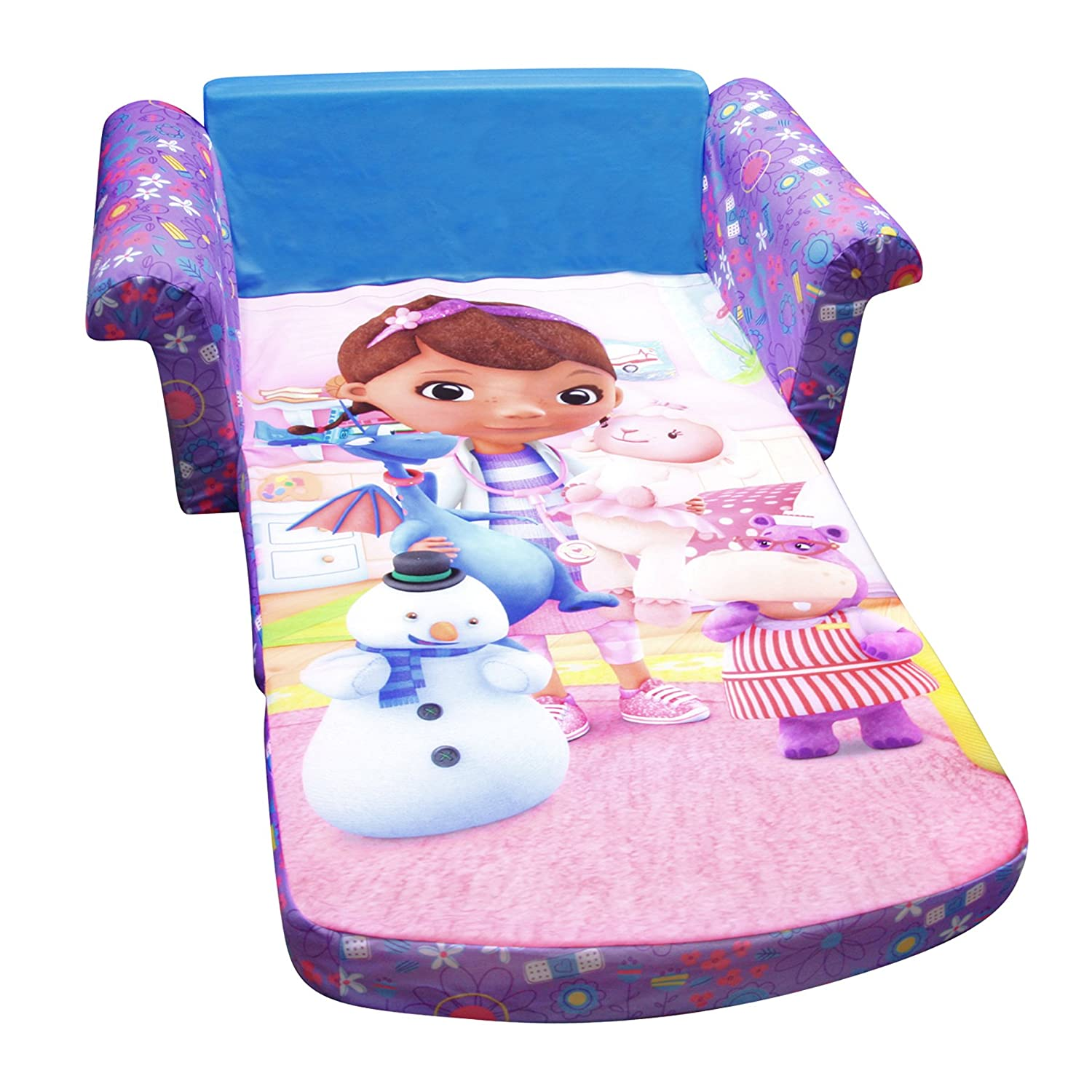 doc mcstuffins chair smyths will medicare pay for a lift fun sofa beds kids and teens christmas gifts