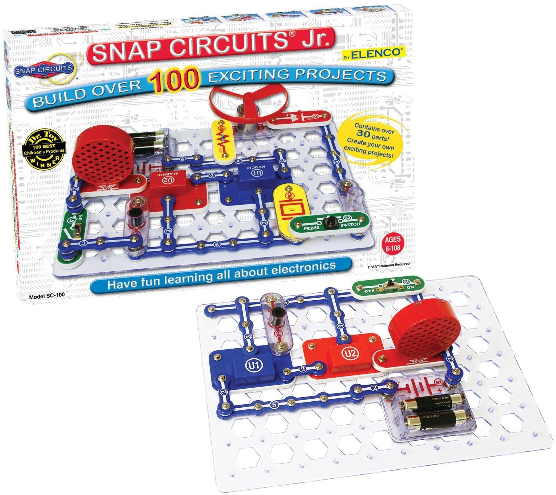 Snap Circuits Jr. SC-100 Kit by Elenco    1,900 customer reviews