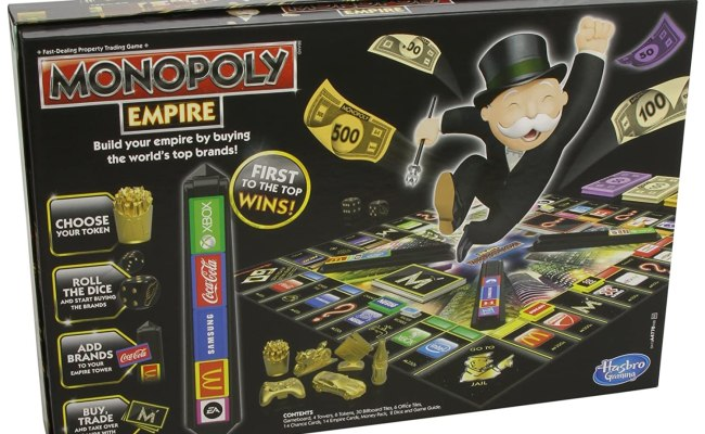 Monopoly Empire Game New Free Shipping