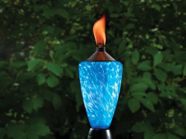 Decorative Color Change Glowing Led Patio Yard Deck Flame