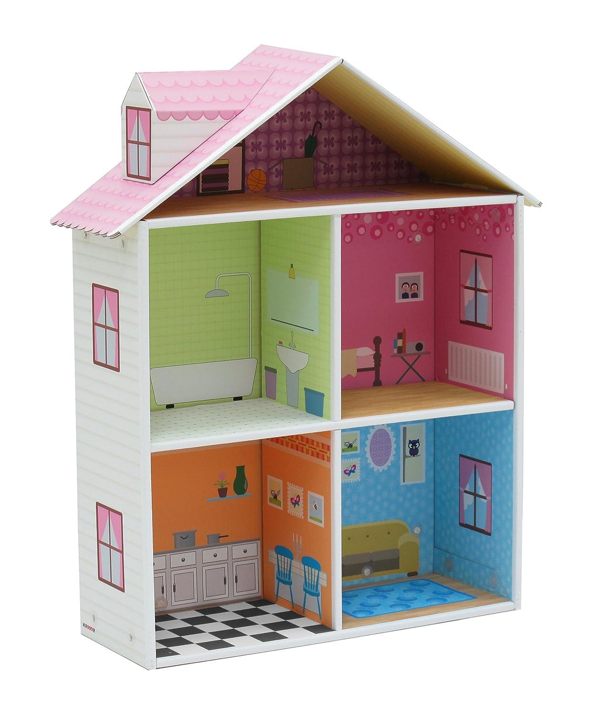 35 ideas para hacer una casita de mu ecas entre - Como se hace una casa de madera ...