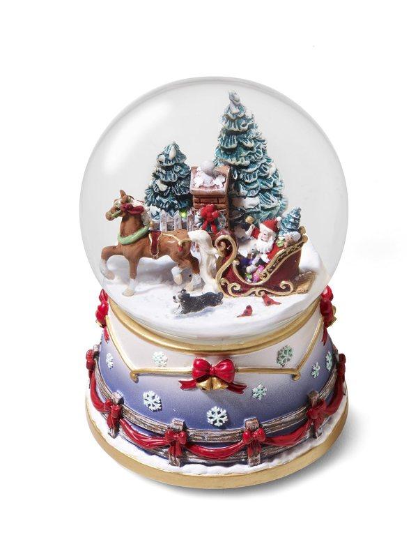 Christmas Town World Snow Globes