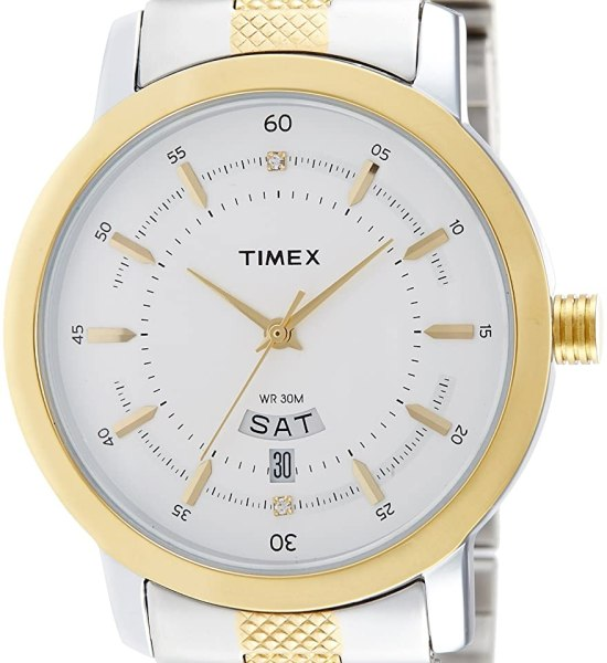 Timex Classics Analog Silver Dial Men's Watch - G910